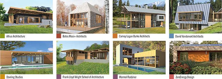 Prairie Cedar Homes Mod Fab And Taliesin Designs
