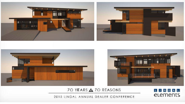 Lindal elements lindal cedar homes for Lindal homes floor plans