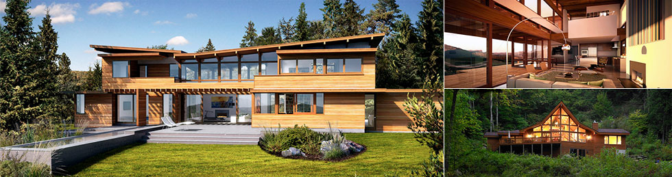 Lindal Cedar Homes Manitoba